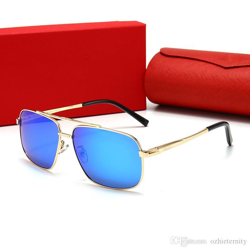 2107 El último cuadro de gran tamaño gafas de diseño de moda estilo de los vidrios ópticos de calidad superior popular de estilo vanguardista y gafas de sol serie oz
