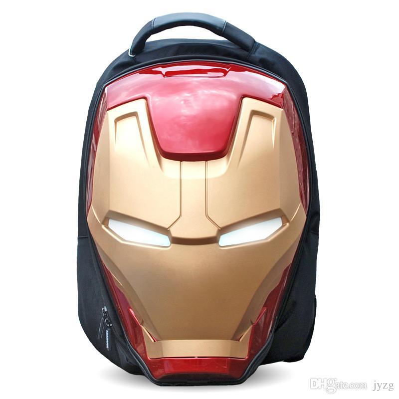 Avengers Iron Man Mochila infantil personaje