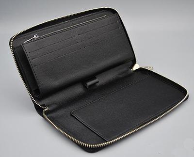 Designer-Männer klassische Standardreisebrieftasche Mode Leder langen Geldbeutel moneybag Mäppchen Münzfach Scheinfach Mann Kupplung