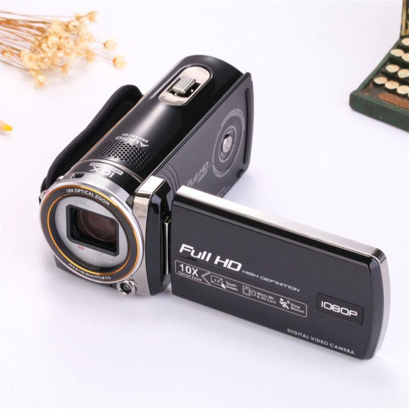 كاميرا رقمية 1600 واط بكسل الكاميرا الرقمية 3.0 بوصة شاشة تعمل باللمس 10x التكبير البصري حية الزفاف الكاميرا الرقمية السفر الأساسية