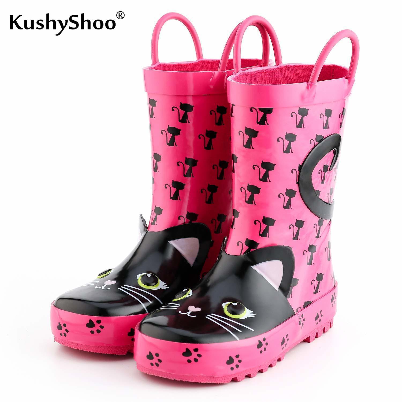 Kids Rain Boots Girl Rubber Boots