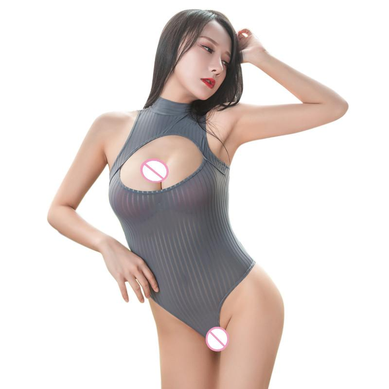 Lady Sexy Underwear Stripper Dew Chest Role Play Costumes