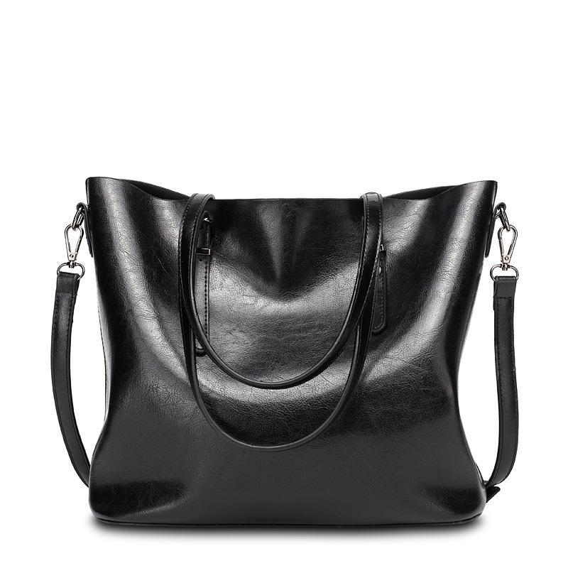 Bolsas de couro Big Bag Mulheres de alta qualidade Casual Feminino Bags Tronco Tote espanhol Marca Shoulder Bag Ladies moda Grande Bolsos