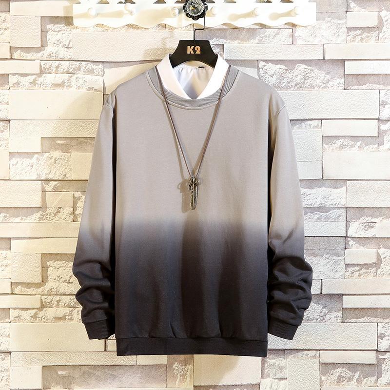 Men's Hoodies & Sweatshirts 2021 Solid Color Sweatshirt Men Spring Autumn Hoody Casual Streetwear Clothes