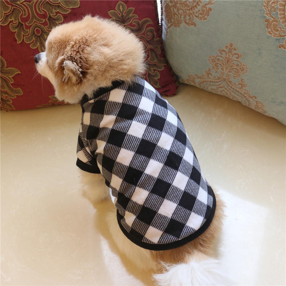 Vêtements pour chien Chat villosités polaire pour petits chiens Veste de costume pour animaux T-shirt Puppy Chien Apparel Vêtements Chihuahua Supplie