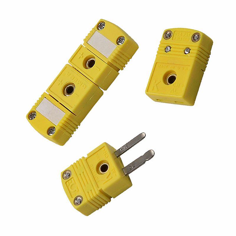Тип термопары K/T / J миниатюрный разъем штепсельной вилки гнезда штепсельные вилки и гнезда термопары датчик US тип для bga