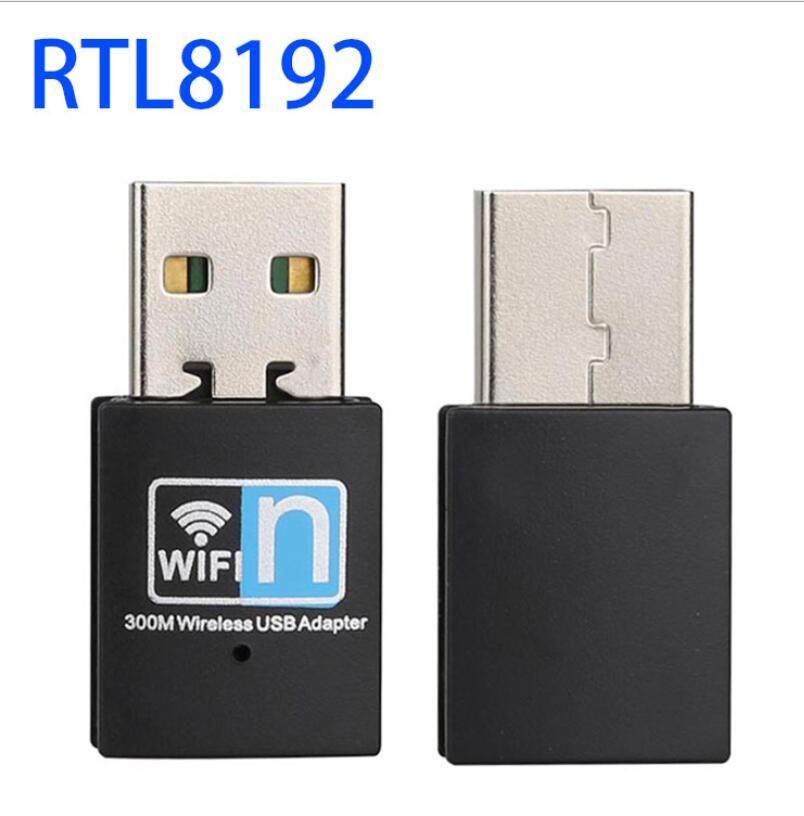 네트워크 카드 802.11 동글 미니 300M USB2.0 RTL8192 와이파이 동글 무선 어댑터 무선 와이파이 N / g / 무선 LAN 어댑터 나
