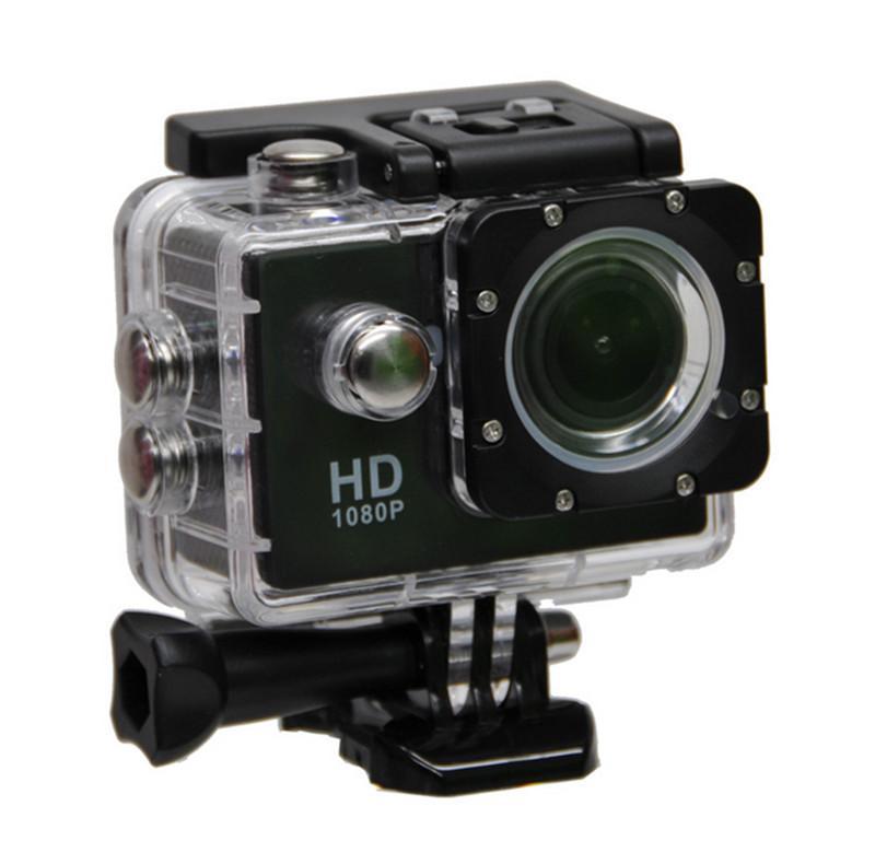 حار أسلوب SJ4000 A9 2 بوصة شاشة LCD كاميرا كامل 1080p HD العمل 30M للماء كاميرات خوذة الرياضة البسيطة DV DVR سيارة دي إتش إل الحرة