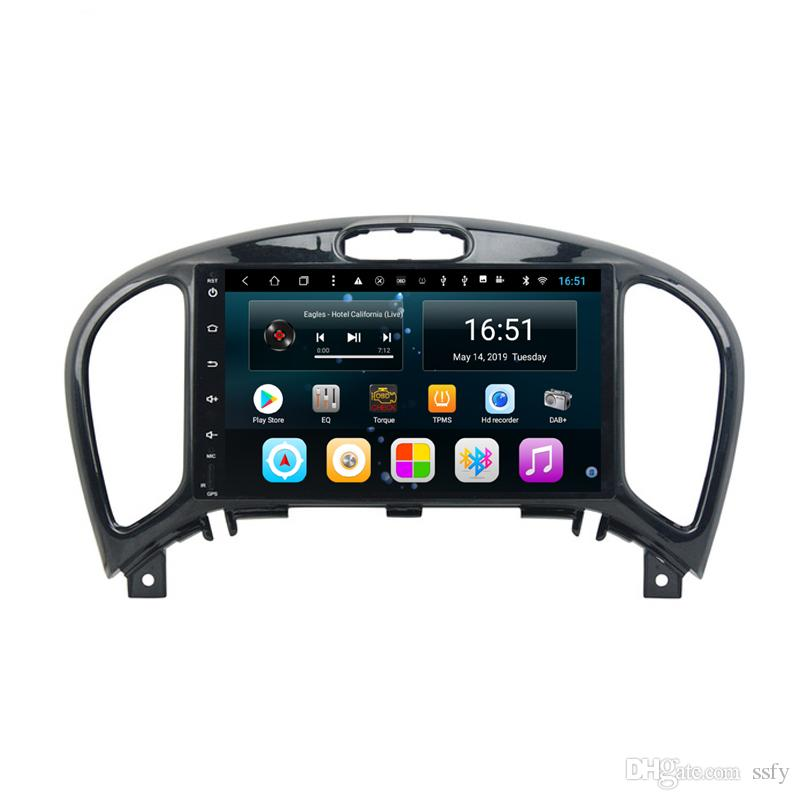 Android car radio with precise GPS navigation free map excellent bluetooth microphone lossless music for Nissan juke infiniti ESQ 9inch