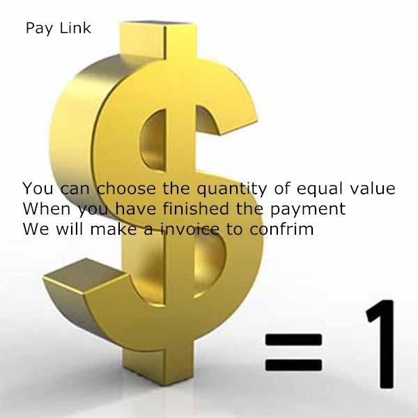 Les clients VIP Commande spéciale Pay lien