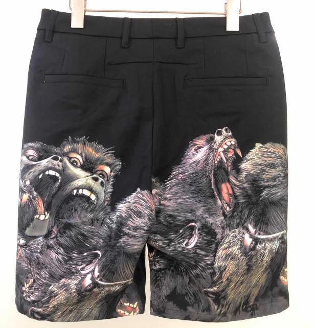 Новый дизайнер Мужские шорты летняя мода роскошные короткие брюки акула голова бренд Jogger брюки открытый шорты Горячий Пляж короткие брюки 20042207D
