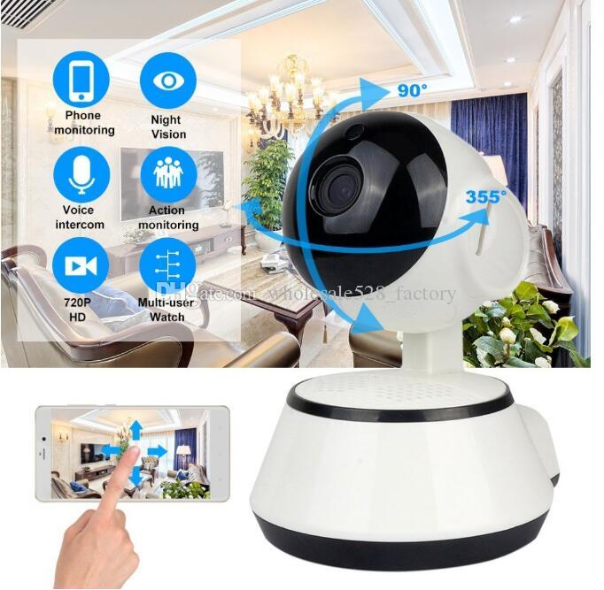Wifi IP Camera Surveillance 720P HD Night Vision Two Way Wireless Video CCTV Camera Baby Monitor Home Security System