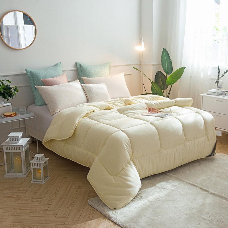Baumwollsteppdecke für Erwachsene Bettwäsche 150x200cm Queen-Size-gesteppte Wintersteppdecke ein Stück freies Verschiffen