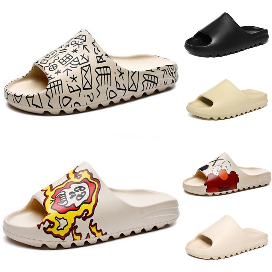 2020 Sandals Women Men Summer Slip On Shoes Peep-Toe Flat Shoes Roman Sandals Mujer Sandalias Ladies Flip Flops Sandal New Hot Sale#790