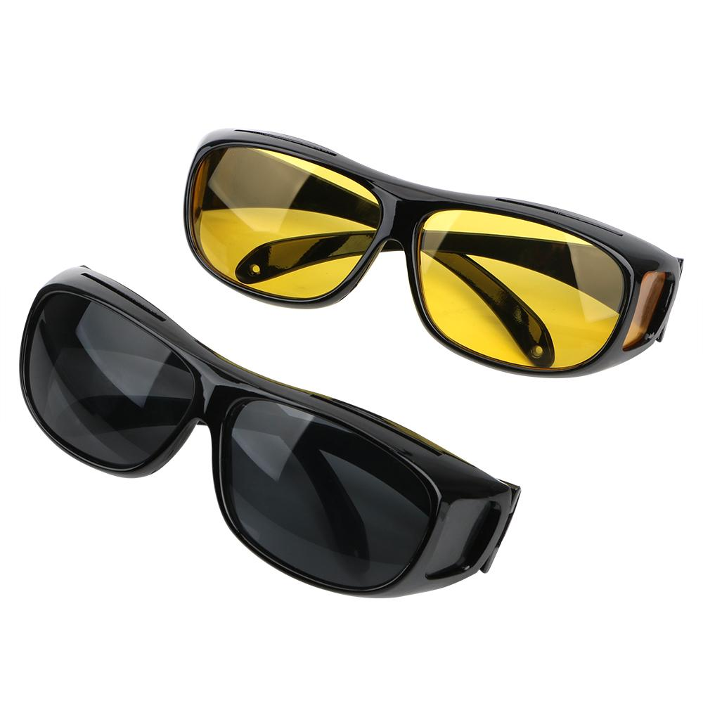 Night Vision Goggles Unisex Car Driving UV Protection Sunglasses Eyewear Glasses