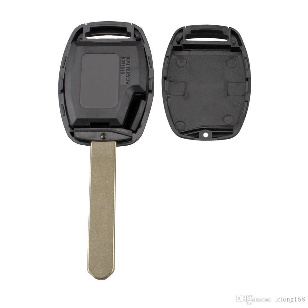 에피 카 포경 블레이드 2 버튼 원격 자동차 키 쉘 커버 케이스