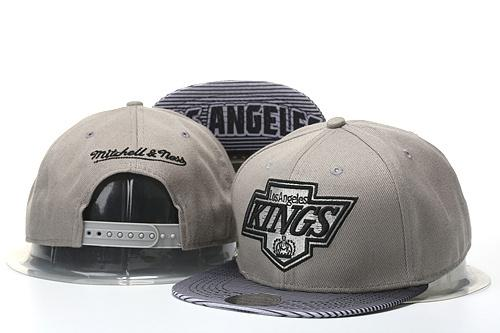 Wholesale-Men's Los Angeles Kings Snapback Hat Team Logo Embroidery Sports Adjustable LA Hockey Caps Vintage Leather Visor Strap back Hat