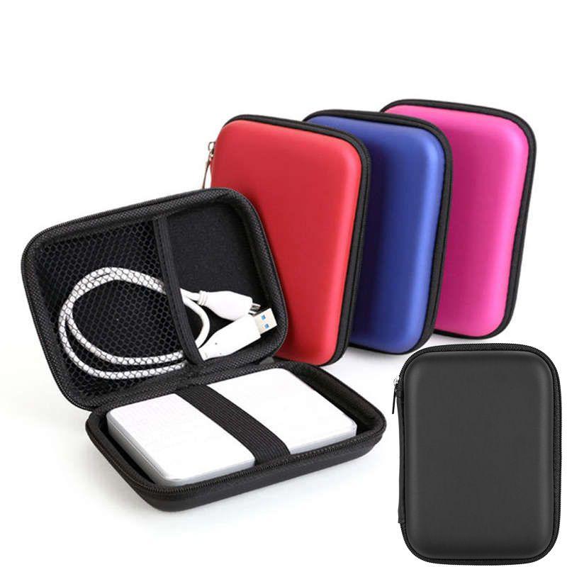 ومن ناحية HDD كاري حالة USB فلاش القرص الصلب حقيبة حمل الحقيبة لأجهزة الكمبيوتر المحمول حقائب سماعة التخزين
