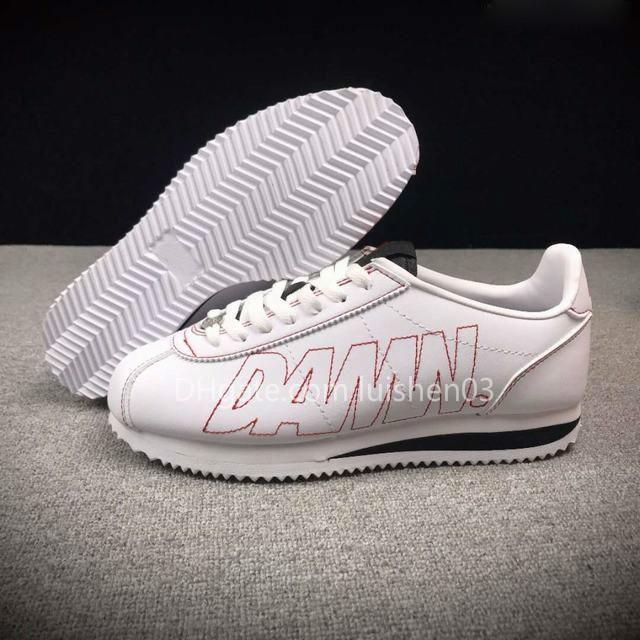 Ücretsiz Kargo Cortez Kendrick Lamar Lanet Ayakkabı Yüksek Kalite Mans Kadın Günlük Ayakkabılar c0303