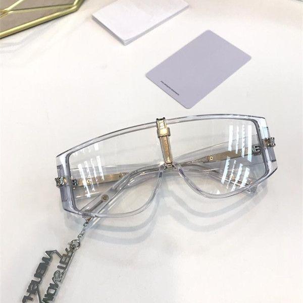 متكاملة كمين رجل إمرأة نظارات شمس موضة النظارات الشمسية فوق البنفسجية حماية عدسة طلاء مرآة عدسة بدون إطار اللون مطلي الإطار تأتي مع الصندوق