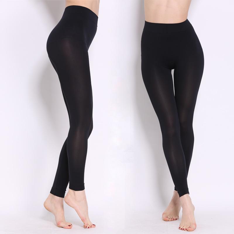 Magia tamanho fino fora desgaste leggings elásticos leggins fitness mulheres moda sexy sexy anti-exposto algodão legging yoga calças calças imuki