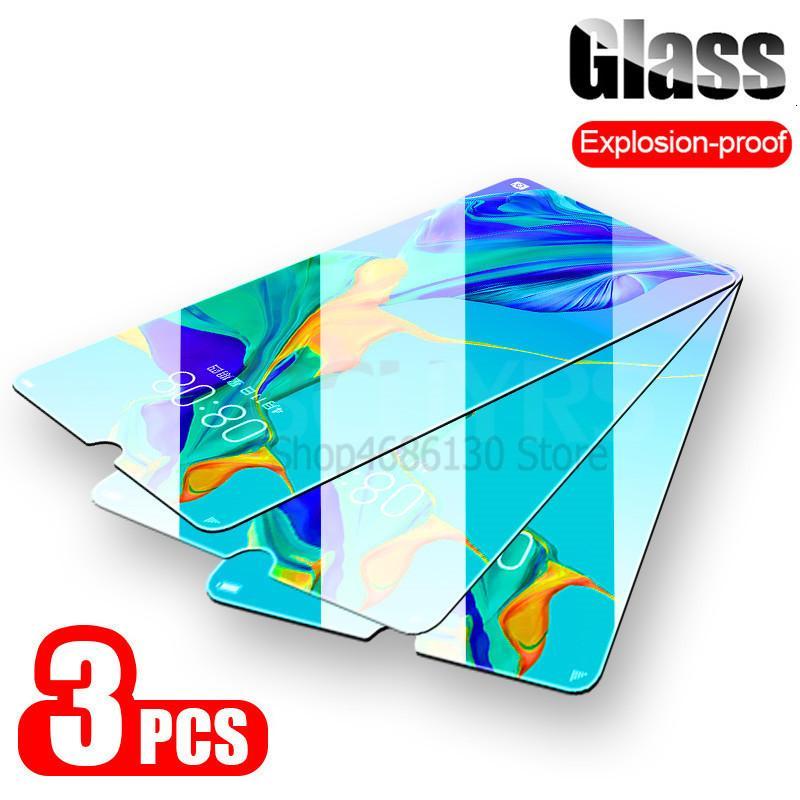 2PCS 9H vidro temperado On The Para Huawei P20 P30 Lite Screen Protector Film Para Huawei P20 Pro P30 P inteligente 2,019 vidro de proteção