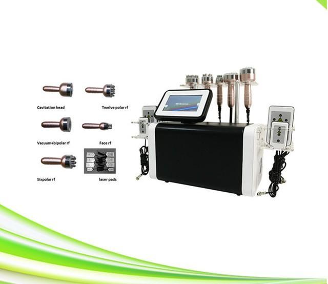 spa 6 en el sistema de cavitación de apriete de vacío 1 ultrasónica máquina de la piel cavitación rf