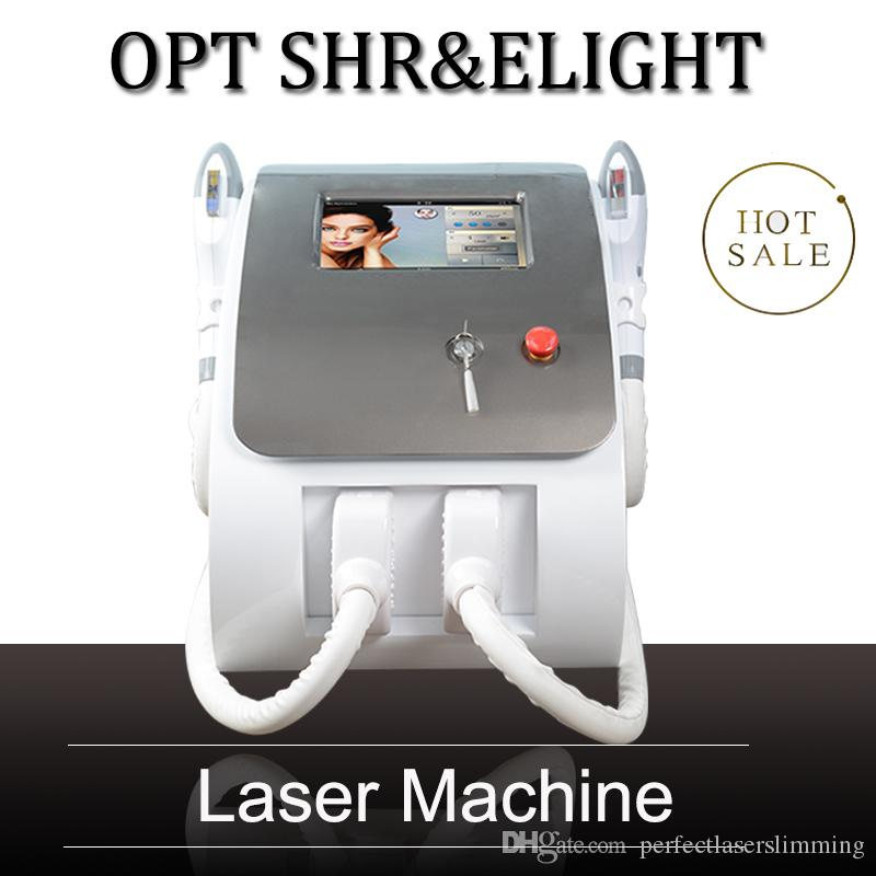 2 Handles Opt Shr Ipl Rapid Hair Removal Machine Ipl Laser Hair