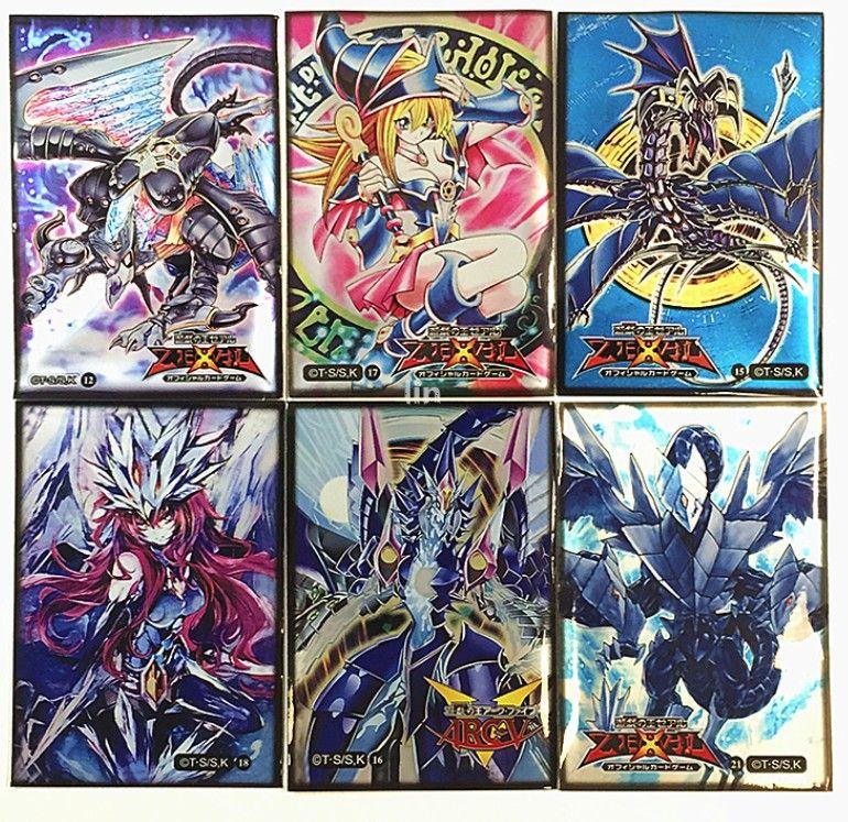 Le dragon ailé de Ra Yugioh manches carte carte de protection carte cas foncé Magicienne foncé Magicien