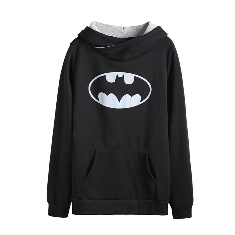 Hoodies de Sweatshirts Y190830 de nouvelle impression à manches longues en col en vrac décontracté décontracté femmes