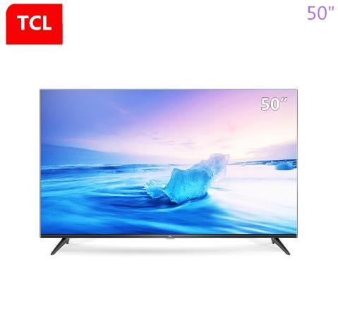 TCL da 50 pollici di alta qualità 4K risorse didattiche HDR TV intelligente ricco di video ultra chiare (nero) a caldo di nuovi prodotti di trasporto libero