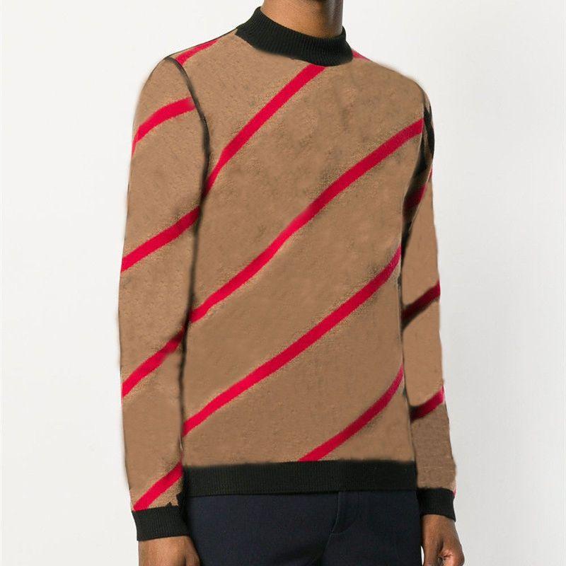 Fashion New Sweater Pullover Men Hoodie Long Sleeve Sweatshirt Mens Autumn Knitwear Winter Mens Clothing