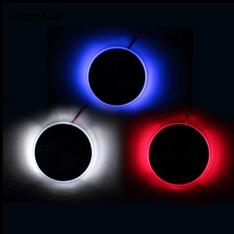 82mm 4D 자동차 LED 후면 배지 빛 스티커 엠블럼 테일 램프 장식 X1의 X3의 X5의 X6 E70 E39 E90 E60 E46 E53 E65 E71E38의 F10에 대한