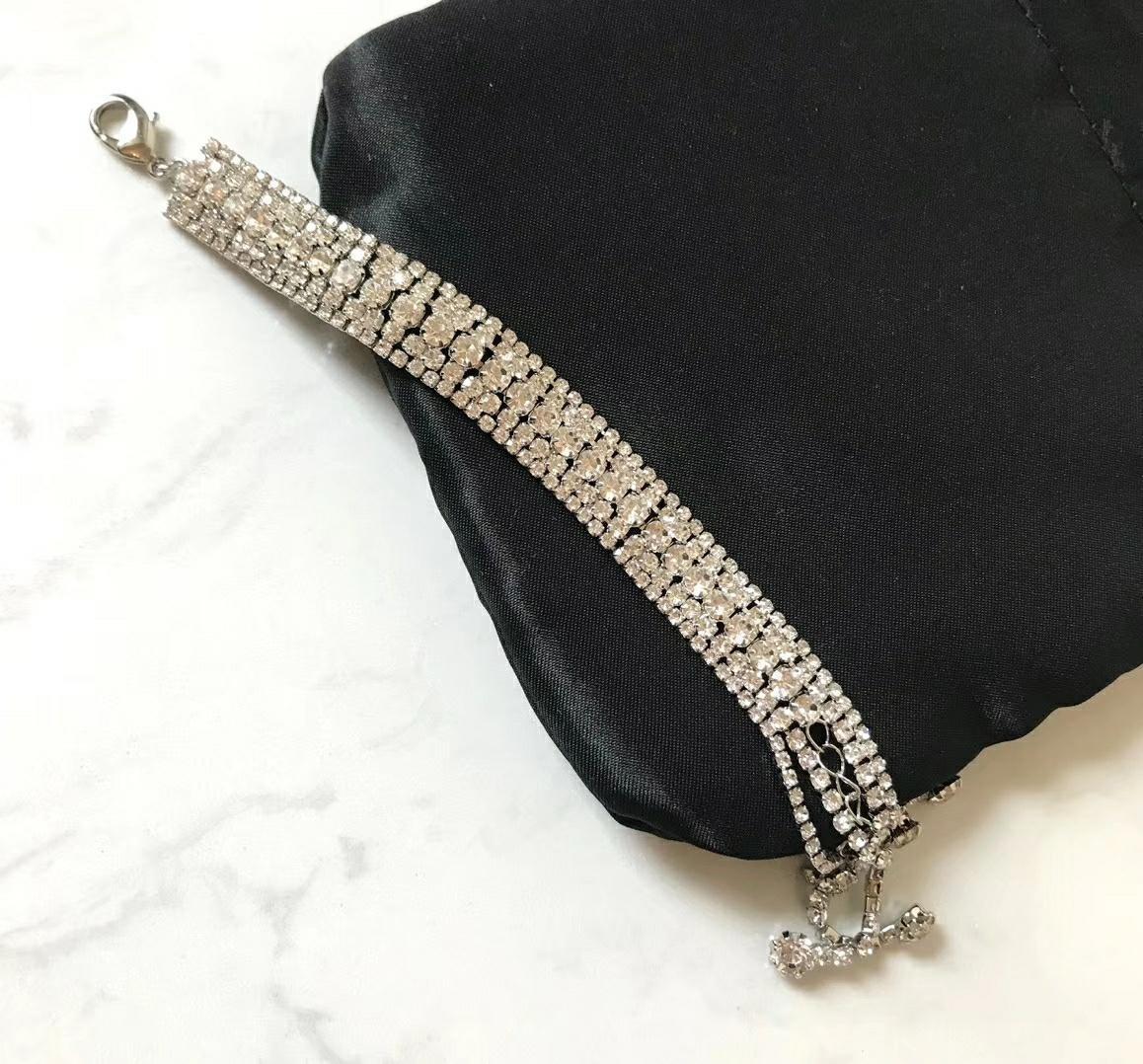 bijoux fantaisie bracelet fantaisie bijou bracelet gland cristal naturel de guérison pierre Bracelet Fille bijoux pendentif chaîne Link Bracelets