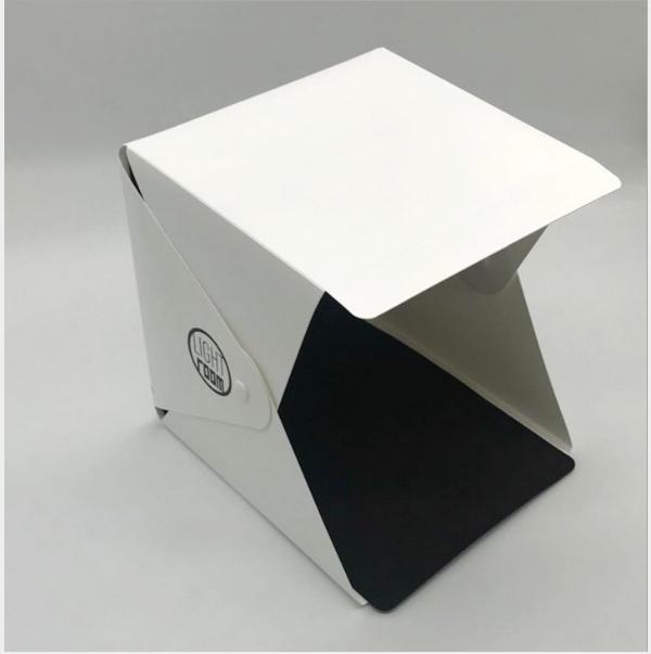 غرفة ضوء المحمولة قابلة للطي الصمام مصغرة استوديو ضوء مربع صغير معدات الدعائم مربع الصورة الصغيرة