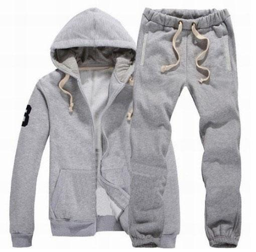 Hot Winter Men Hooded Polo Tracksuits Hoodies Pants Big Pony Embroidery Cotton Golf Jogging Sportwear Running Jumpsuit Motorcycle Jackets