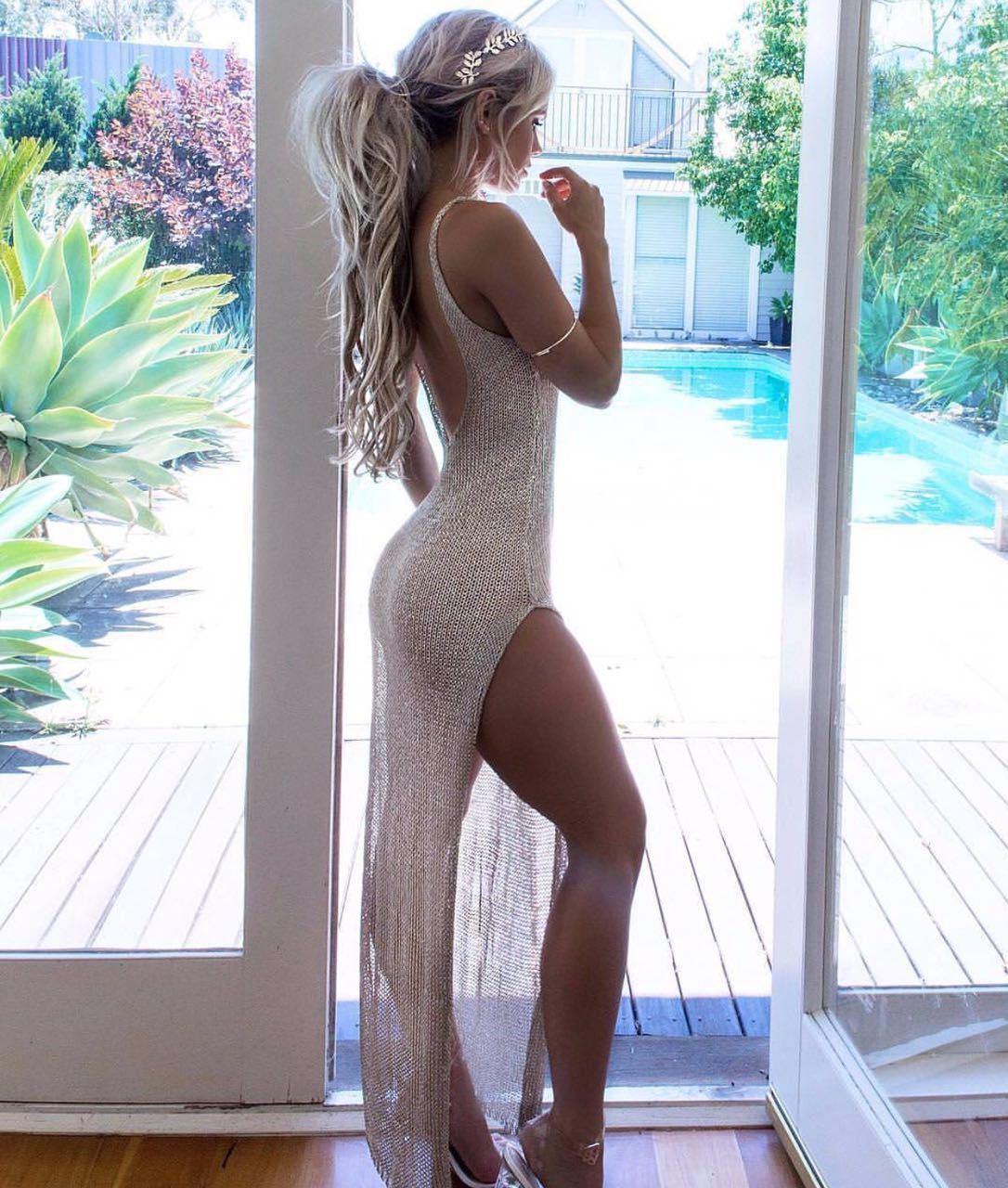 2020 New Hot Venda Verão malha Sheer longo Cover-Ups Mulheres Maiô Biquíni Cover Up Beach Dress Swimwear Vestido Swimsuit