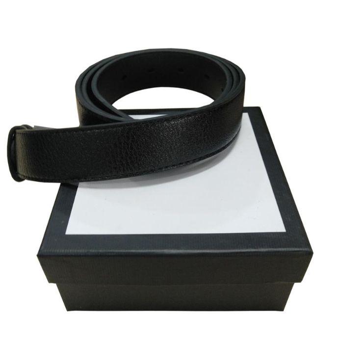 Migliori Cinture uomo regalo Wowan disegno di modo Cinghia di cuoio genuina di alta qualità con la scatola regalo