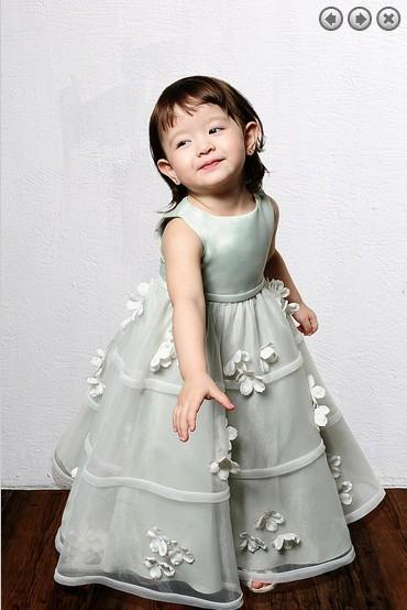 free shipping 2020 new style organza Girls' Formal gowns Lovely princess dress weddings Girl's Pageant Gowns Flower Girl Dresses
