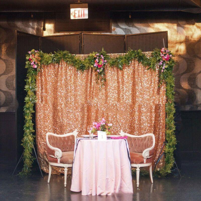 زفاف 120x180cm لامع الترتر الستار عيد الميلاد خلفية حزب الجدول يغطي بوث ديكو التصوير الخلفية