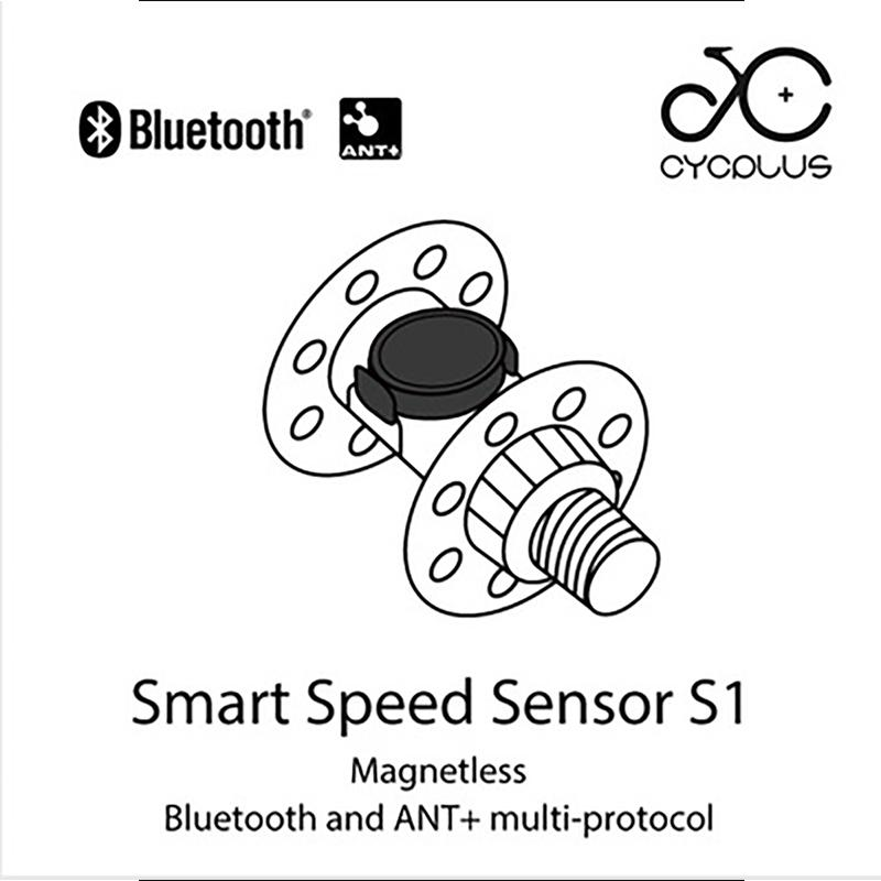 Bicycle speed cadence dual-mode sensor ant + Bluetooth mountain bike compatible with GARMIN