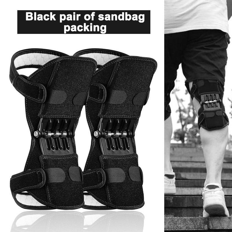 Fitness Sports Knie Beinschutz Knie Bounce Schmerzlinderung Unterstützung Pads Leistungsstarke Rebound Force Protection