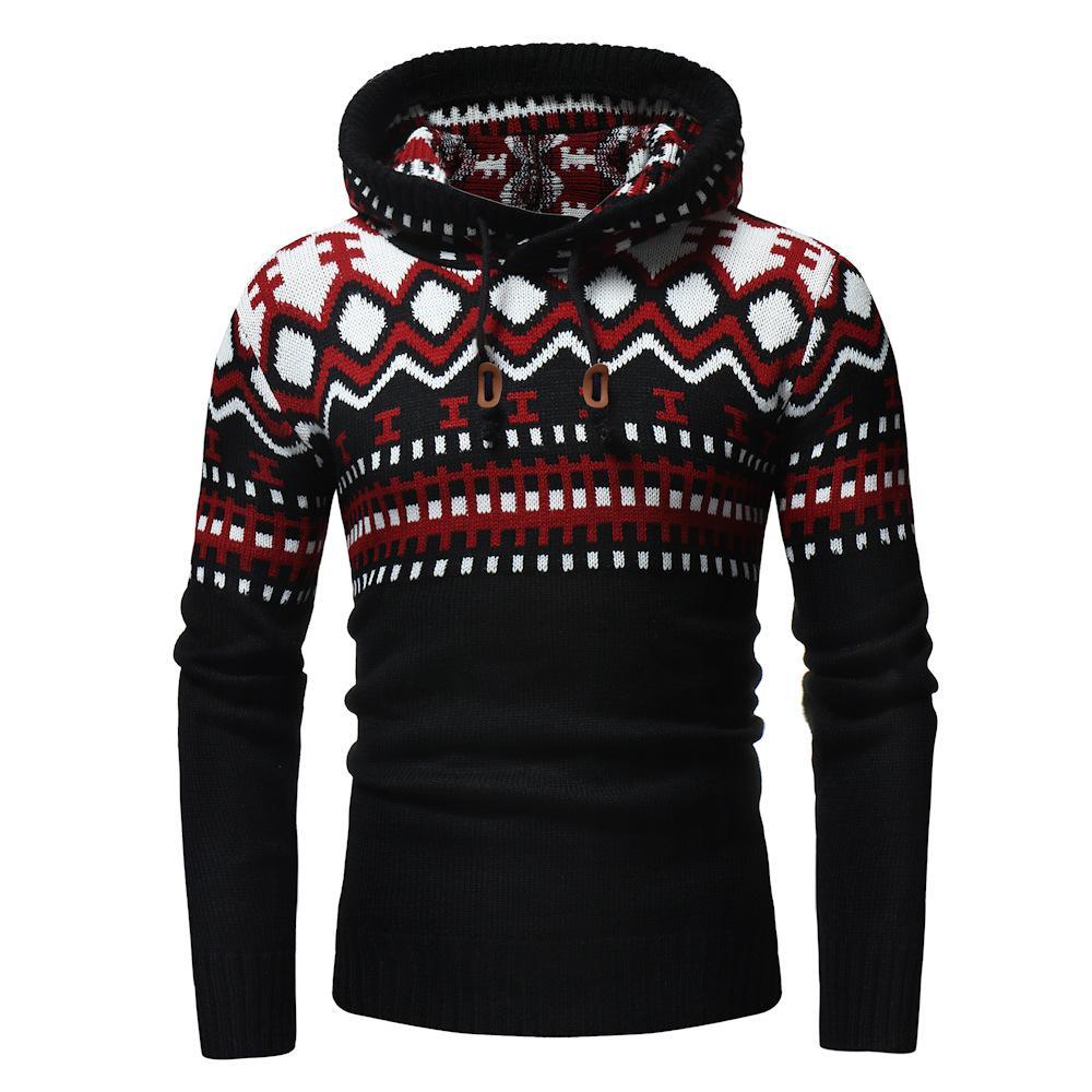 Herren-Pullover Herbst und Winter hohe Normallack des Kragens Twist grundiert Pullover lässig Pullover Hemd Gezeiten Männer