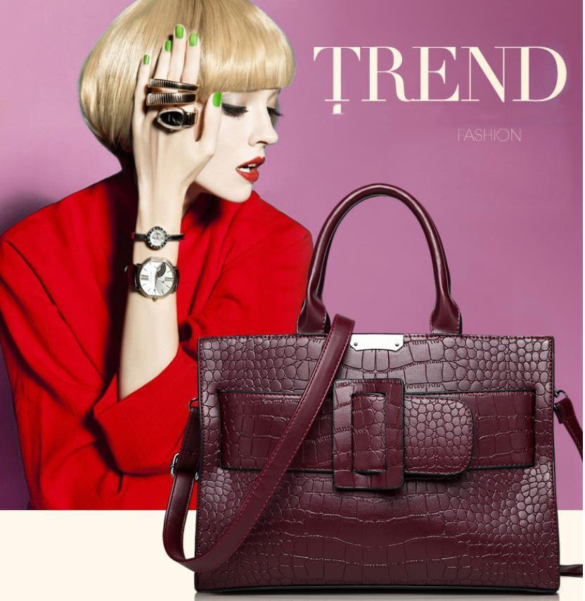 Designer Embossed Designer Handbags Purse Wholesale Tote Bag Couro Moda Bolsas Mulheres famosa marca Shoulder Bag Purse