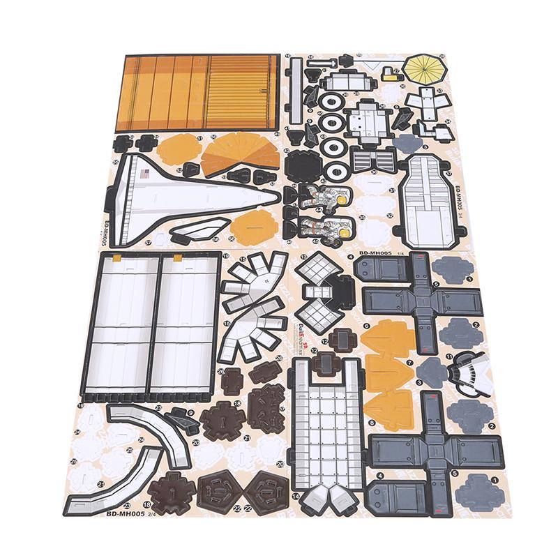 Kids Jigsaw MH003 Apollo 3D Paper Puzzle Classic Puzzle Construction Toy AT