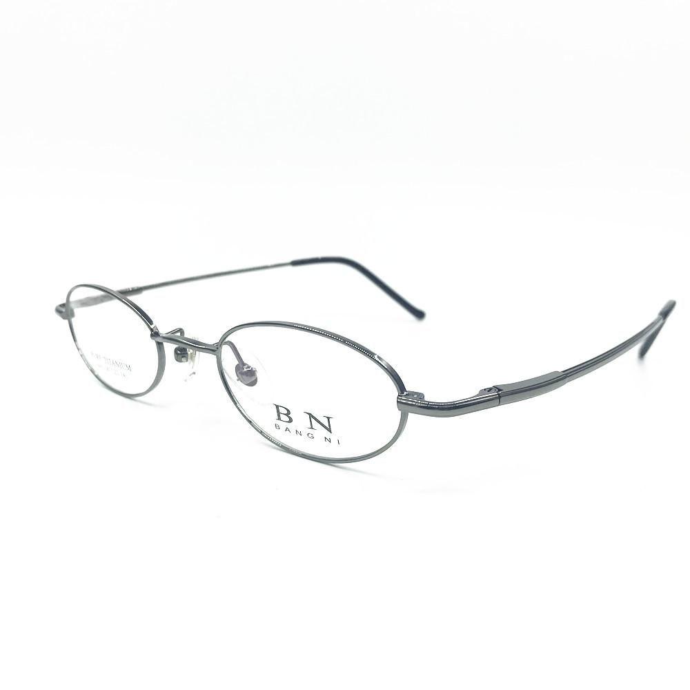 Cubojue Titanyum Gözlük Çerçevesi Erkekler Kadınlar Oval Gözlükler İnsanın Derecesi Optik Reçete Gözlük Bahar Menteşe Nerd
