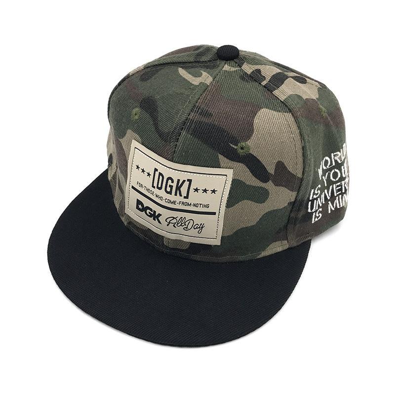 Марка DGK Snapback Caps Flat Hip Hop Бейсболка Casquette Gorras Hat взрослых Камуфляж Регулируемые PLANAS шляпы для мужчин женщин