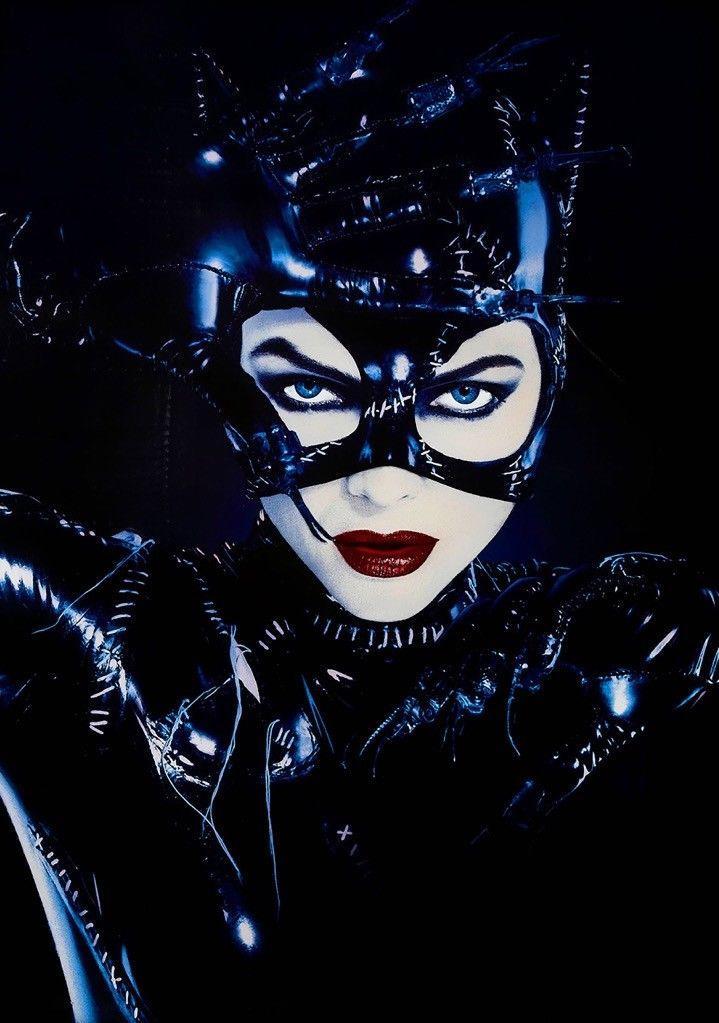 BATMAN RETURNS Movie Film 1992 Catwoman Michelle Pfeiffer Art Silk Print Poster 24x36inch(60x90cm) 009