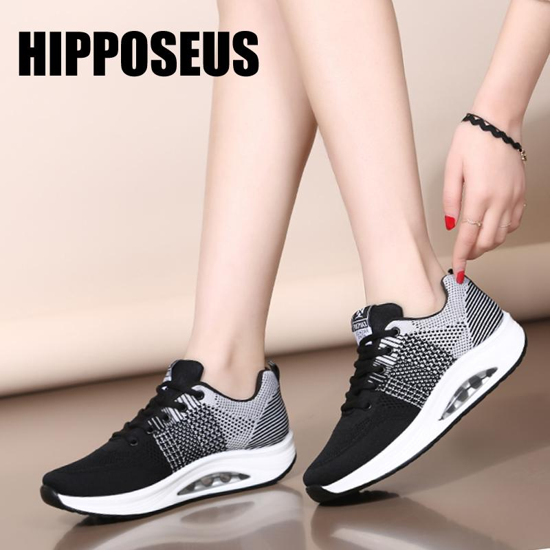 Sneaker Modern Dance Shoes Jazz Low-Heeled for Women Rubber Soft Sole Breathable Mesh Sports Casual Dancing Shoes Lightweight