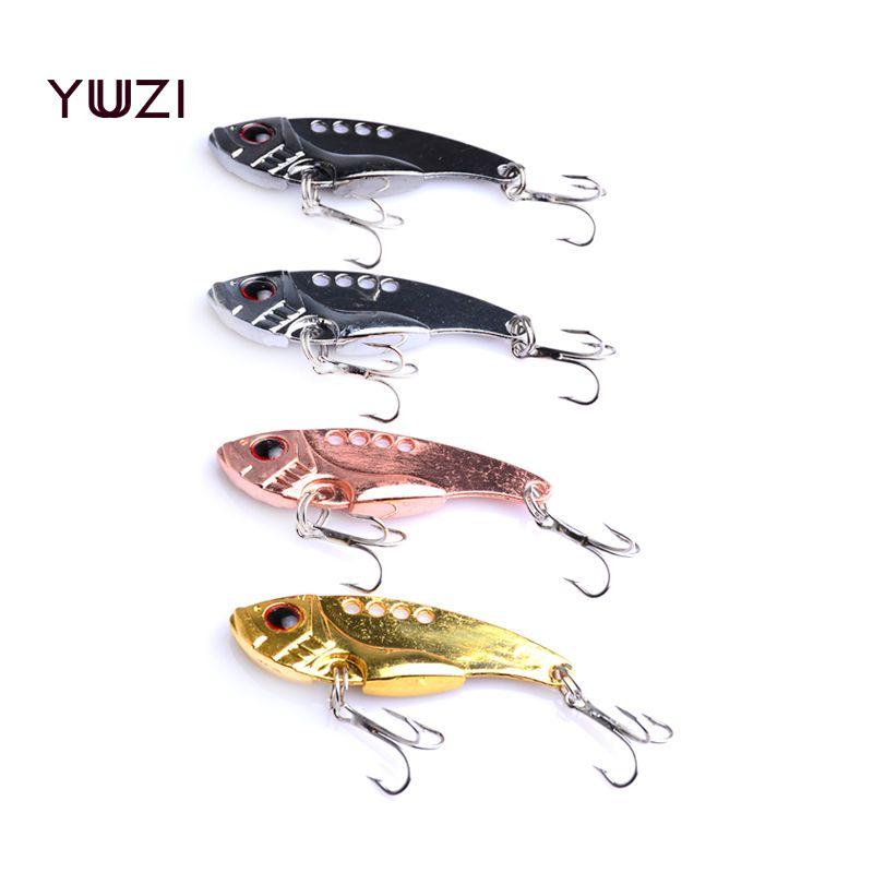 الجملة 400PC VIBE الصيد السحر 5.5CM 11G 8 # خطاطيف للصيد صيد هزاز بيت سحر ملعقة معدنية يتناول الصيد PESCA العليا النوعيه-